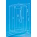 Душевая кабина ВМ-881(90х90)