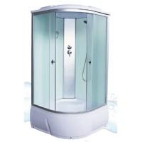 Душевая кабина AquaCubic 3102D 90*90*220 fabric white