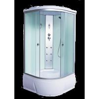 Душевая кабина AquaCubic 3103B 100*100*220 fabric white