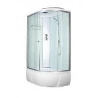 Душевая кабина AquaCubic 3106D L 120*80*220  fabric white
