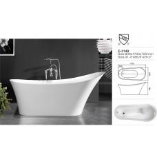 Ванна акриловая ESBANO  Dublin 1700x800x660