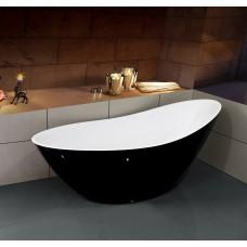 Ванна акриловая ESBANO London (black)  1800*800*750